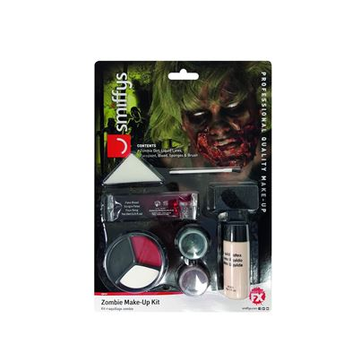 Smiffys Zombie Powder Dirt Kit