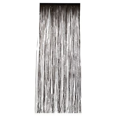 Smiffys Black Shimmer Curtain