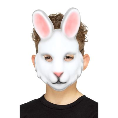 Smiffys Kids Rabbit Mask