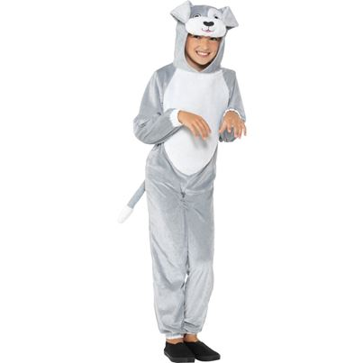 Smiffys Grey Dog Costume
