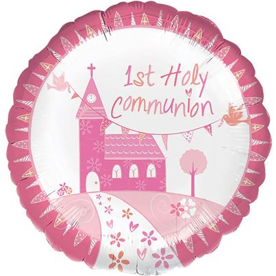 Oaktree Holy Communion Pink Foil