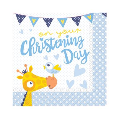 Amscan On Your Christening Day Napkins