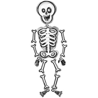 Mr Skelly Airwalker