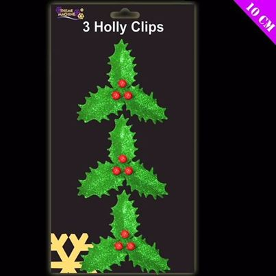 Davies Holly Decorations