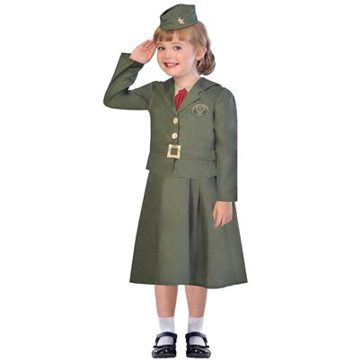 Amscan WW2 Girl Soldier