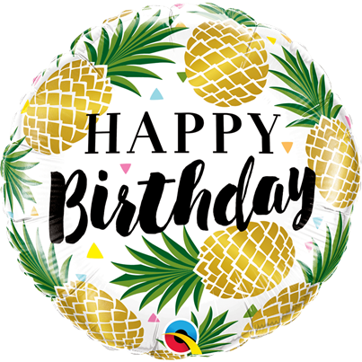 Happy Birthday Golden Pineapples