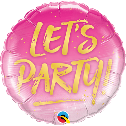 Qualatex Let's Party! Balloon