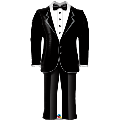 Qualatex Wedding Suit Supershape