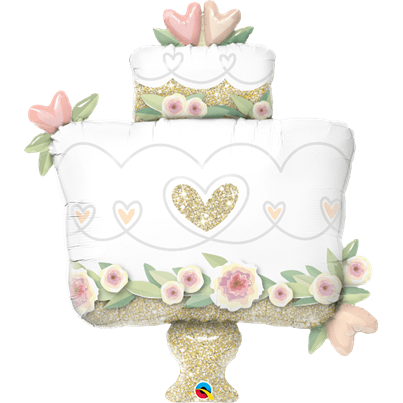 Qualatex Wedding Cake Supershape