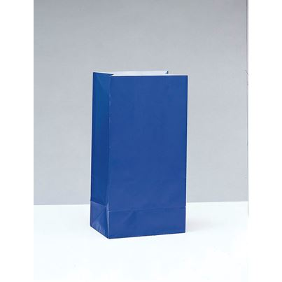Royal Blue Party Bags