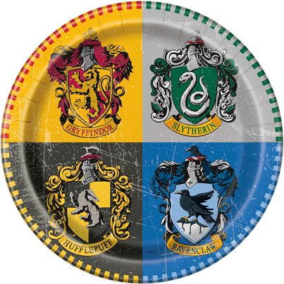 Unique Harry Potter Dinner Plates