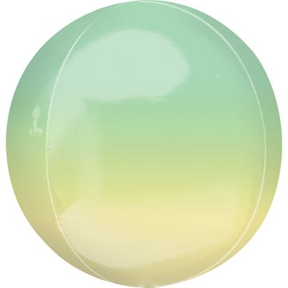 Amscan Ombre Yellow & Green Orbz