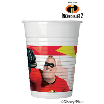 Incredibles Cups 8pk