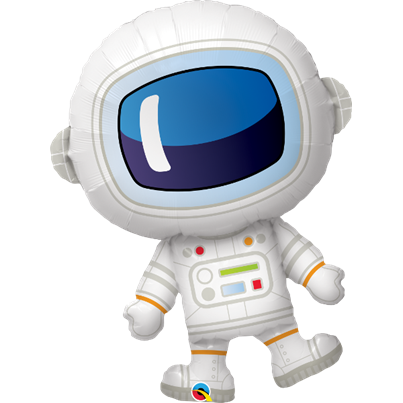 Astronaut Supershape Foil