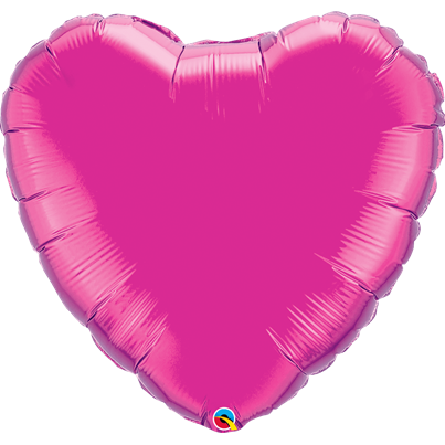 Qualatex Plain 36 inch Foil Heart