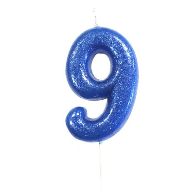 Creative Party Glitter Number Candles