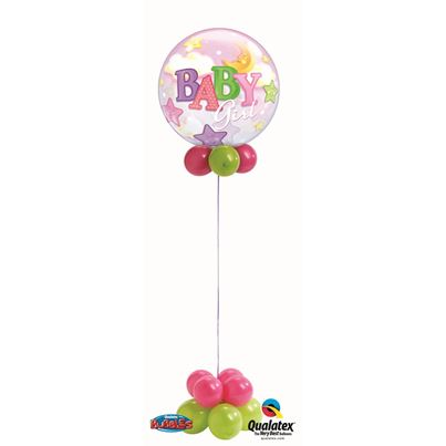 Baby Girl Bubble Fun Base