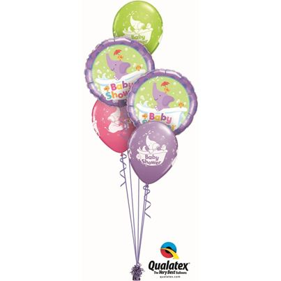 Qualatex Baby Shower Elephant Classic