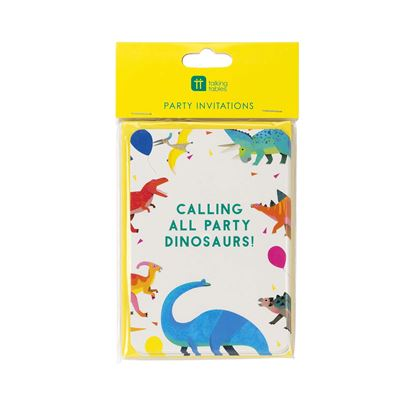 Talking Tables Party Dinosaur Invitations