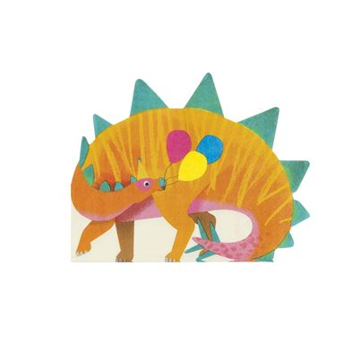 Party Dinosaurs Napkin