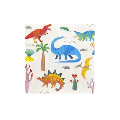 Talking Tables Dinosaur napkins