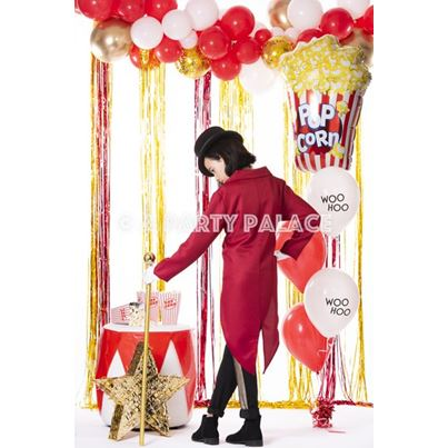 Popcorn Party Balloon Display