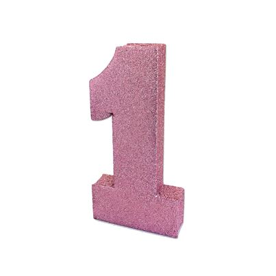 Pink Glitter Table Decoration