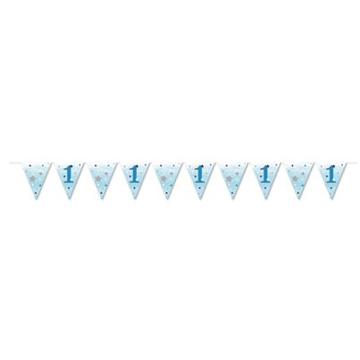 Creative Party Blue Flag Bunting