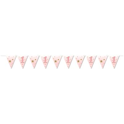 Creative Party Pink Flag Bunting