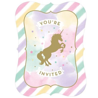 Unicorn Sparkle Invitation