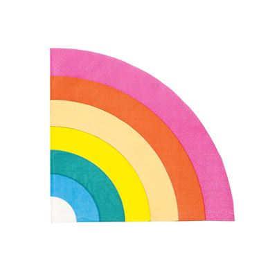 Talking Tables Rainbow Napkins 16pk