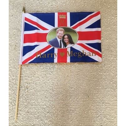 Royal wedding Hand Flag