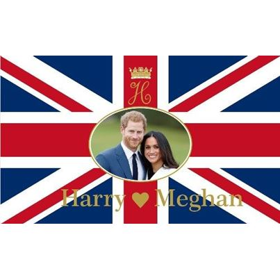 Worldwide Flags Meghan & Harry 5'x3' Flag