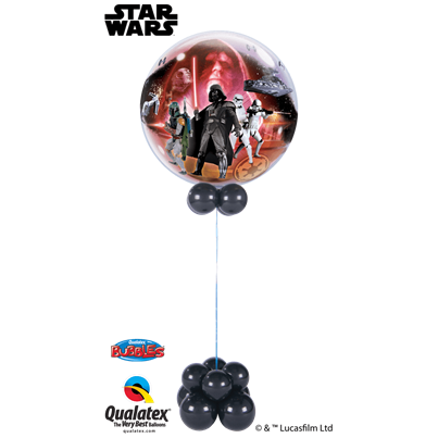 Qualatex Star Wars Bubble Fun Base