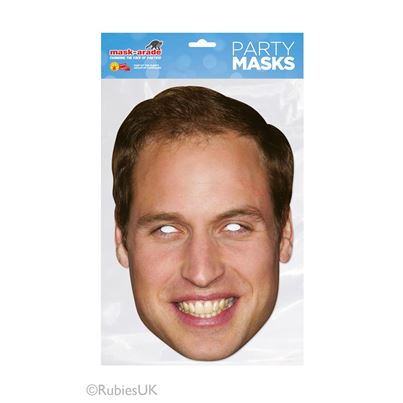 Rubies Prince William Face Mask