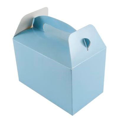 Pale Blue Party Boxes 6pk