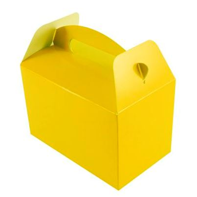 Oaktree Yellow Party Boxes 6pk