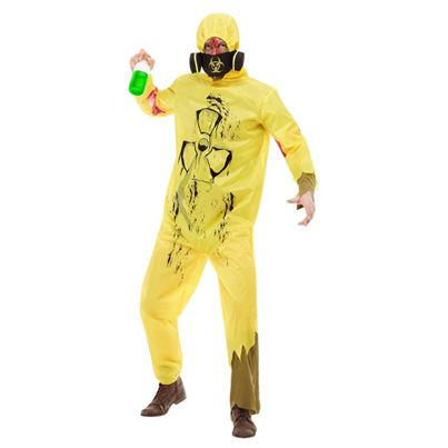 Yellow Biohazard Costume