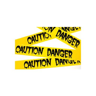 'Enter If You Dare' Caution Tape