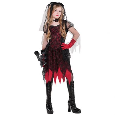 Amscan Deadly Wed Childs' Costume