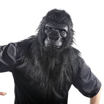 Palmer Gorilla Mask with Moving Mouth