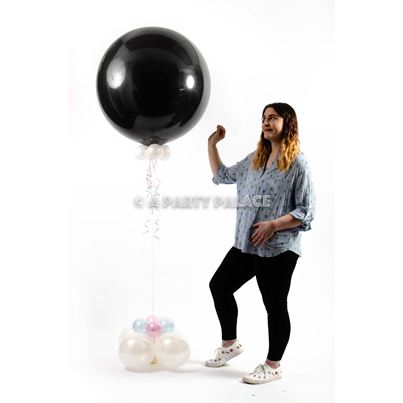 Qualatex Giant 3ft Gender Reveal Balloon Inflated