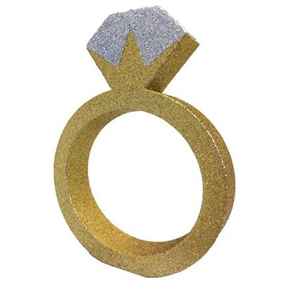 Creative Party Glitter Ring Tablepiece
