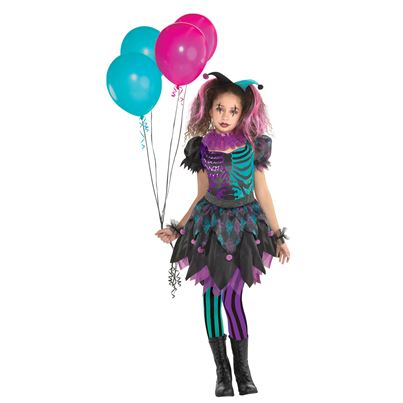 Haunted Harlequin Child's Costume