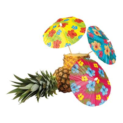 Cocktail Umbrellas 6Pk