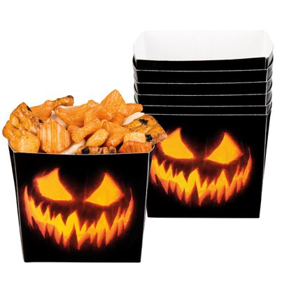 Creepy Pumpkin Bowls 6Pk