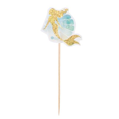 Mermaid Cocktail Sticks 12pk