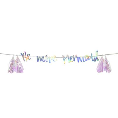 TTables 'Be More Mermaid' Garland