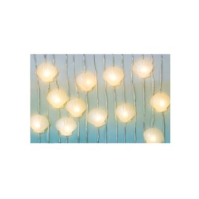 TTables Mermaid Shell Lights