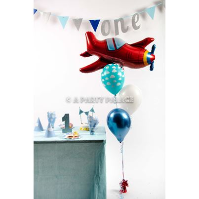 Early Years Red Plane Party Bunch